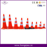 Reflektierende Belüftung-Straßen-Markierungs-Kegel