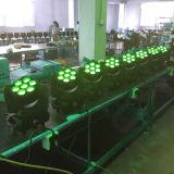 7X10W段階DMX専門の移動ヘッドLED洗浄ライト