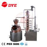 100L venden al por mayor el equipo de cobre de la destilería de los alambiques de la vodka para la venta