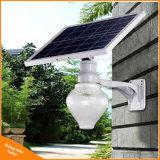 6W Controle Remoto Apple Outdoor LED Solar Luz Jardim de Rua