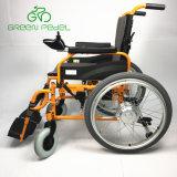Greenpedel 24V 250W Joystick cadeira eléctrica de Dobragem fácil