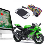Control de combustible en Tiempo Real Google Map rastreador de GPS para motos