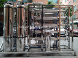 Aço inoxidável 500lph Estágio Duplo Doc Ligado sistema RO Etar de EDI para estudo laboratorial