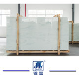 Artificial Crystallized White Nano Marble for Modern Kitchen Countertop and Bast