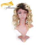 Pelucas llenas del cordón del mejor pelo chino largo de la Virgen