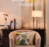 Moda moderna candeeiro de mesa decorativa quente