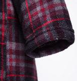Accappatoio rosso/blu di stile classico del nuovo prodotto di griglia