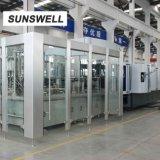 Sunswell 20, 000bph Combiblock estanqueidade de enchimento de sopro de água para frasco de 750 ml