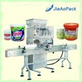 Máquina de Llenado automático de la cabeza con cuatro escalas para frijoles/Chips /Cacahuetes embalaje