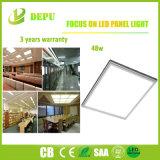 Material usado de la luz del blanco/del panel del marco LED de la hebra buen con la eficacia alta 48W 100lm/W con EMC+LVD
