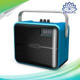 Amplificateur de puissance sans fil maniable des haut-parleurs 15W de karaoke de Bluetooth