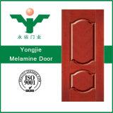 Porte intérieure de style classique avec film PVC Porte de mélamine