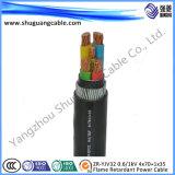 Электрическое обшитое Insulated/PVC/силовой кабель средства Voltage/XLPE