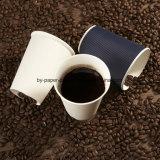 Белая бумага 12 Oz придает форму чашки большой для кофеего, чая, горячего какаа