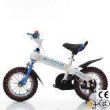 Blanco de las 4 ruedas bicicleta para niños de paseo con certificado CE