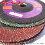 Roda da borboleta de polimento de alta qualidade para todos os metais e ligas