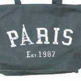Sacchetto casuale delle donne della spalla della tela di canapa della borsa di acquisto del Tote della spiaggia