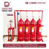 Ig541 Mix 80L Sistema de supresión de fuego de gas del sistema de extinción de incendios