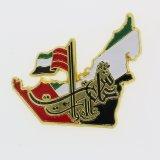 カラーエナメルが付いているアラブ首長国連邦の国家的記念日の記念品のギフトのバッジ