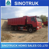 Caminhão de Tipper Diesel do volume da areia 25ton do caminhão HOWO de Cnhtc sino