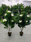 꽃 Hydrangea 84lvs와 6개의 꽃을%s 가진 인공적인 플랜트의 고품질