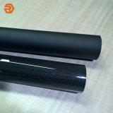 3K/Satinado Mate liso/tubo de fibra de carbono Twill / tubo de fibra de carbono