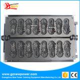 Cartoon Gaufrier/Mini Gaufrier /de la restauration de l'équipement d'acier inoxydable