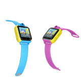 3G Android Video llamada Kid Tracking GPS reloj con alarma sos