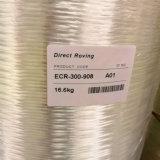Fibre discontinue directe 300tex de fibre de verre de la Chine pour la maille de fibre de verre