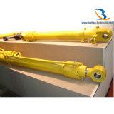 Double constructeur hydraulique temporaire de cylindres d'ascenseur
