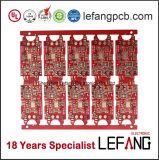 빨간 잉크 신호 전력 증폭기를 위한 널 6개의 층 PCB