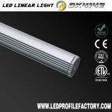 Perfil de aluminio del canal de la luz de tira de Dk4142 LED para el LED