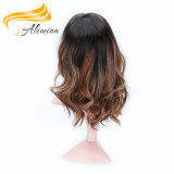 Pelucas brasileñas del frente del cordón del pelo de la peluca del cordón de la alta calidad