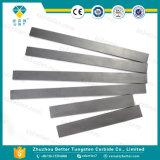 Placas & tiras do carboneto de tungstênio da alta qualidade Yg10 para a estaca