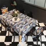 Het dineren Tafelkleed met Goede Waterdichte Kwaliteit, Gewassen Gemakkelijk