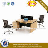 En Amérique du Sud Salle de bossage sur le marché de couleur claire station de travail de bureau (HX-8N0218)