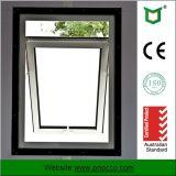 Finestra appesa superiore di alluminio con vetro per il disegno prefabbricato della Camera
