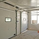 Automatische weiße flache Schnittgarage-Stahltür