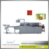 De automatische Machine van de Verpakking van de Doos van het Karton van het Weefsel