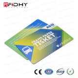 MIFARE promotionnel (R) 4K de la RFID pour la carte de paiement de billets de papier