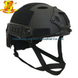 Tipo rápido capacete do Pj do CS de Airsoft Paintball da cor do preto