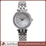 Vestidos damas Relojes de Pulsera, pulsera de plata Cristal Classic Women Watch