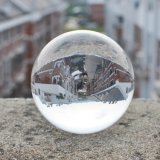 Bola de cristal transparente claro K9 Bola de cristal