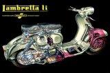 Electromobileの金属の錫の印の広告