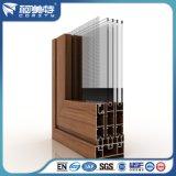 مصنع 6063 خشب حبّة ألومنيوم قطاع جانبيّ لأنّ بناء بناية