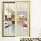 Nueva moda de puerta corrediza de aluminio para la decoración de interiores