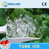 2 toneladas de hielo de máquina del fabricante con hielo del tubo de almacenaje largo