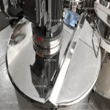 Le mélange de crème liquide en acier inoxydable navire citerne avec mélangeur homogénéisateur
