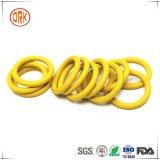Anillo o excelente amarillo del caucho de la resistencia química de Ffkm