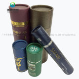 El cilindro casera personalizada 30ml 50ml Caja de tubo de embalajes de cartón de papel